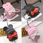 Women Girl Cute Backpack Travel Rucksack Satchel Bow-knot Mini Small Backpack