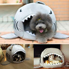 Collapsible Indoor Pet Dog Puppy Cat Warm House Bed Shelter Cozy Nest Mat Pad UK