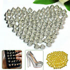 100x 10mm Stud Round Spike Rivet Craft Bag Leather Craft Accessories DIY Novelty