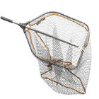 Savage Gear Pro Folding Landing Net Fixed Handle NEW Lure Fishing   *All Sizes*