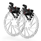 MTB Mechanical Bike Disc Brake Front & Rear Caliper 160mm Rotor BB5 BB7 USSTOCK