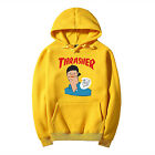 Hot new sell paragraph THRASHER  Tops Hooded sweatshirts coat hoodie Sportswear