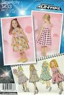 Simplicity 1433 Toddlers' and Child's Dress, Bodice Variations    Sewing Pattern