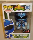 Funko POP Television MIGHTY MORPHIN POWER RANGERS Blue Ranger Metallic Exclusive