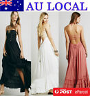 Wedding Bridesmaid Formal Evening Gown Prom Party Long Maxi Dress Stretch Bodice