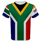 South Africa Old South Africa Flag Two Sided Men's Sublimation T-Shirt S-3XL