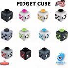 Fiddle Fidget Cube Children Desk Kids Toy Adults Stress Relief ADHD + Free Bag