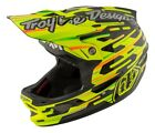 Troy Lee Designs 2017 D3 Carbon MIPS Helmet Code Yellow Adult All Sizes