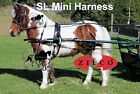 Miniature Mini Horse Harness Carriage Driving Zilco SL Mini