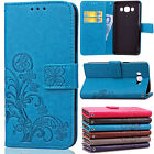 Shockproof Leather Flip Card Wallet Case Cover For Samsung Galaxy J7 2016 2015