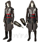 Assassin's Creed Callum Lynch Cosplay Costume Full Set w/ Boots & Sharp Dresser