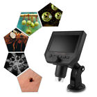 """Portable LCD Digital Microscope 4.3"""" HD OLED 3.6MP 1-600X Magnification G600 ES"""