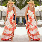 Fashion Women Summer Sleeveless Evening Party Beach Long Maxi Sundress Dress US
