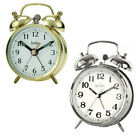 Acctim Selworth Double Bell Wind Up Alarm Clock Traditional Beside Keywound