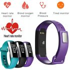 M2 Heart Rate Monitor/Blood Pressure/Oximeter Fitness Tracker Alarm Smart Watch