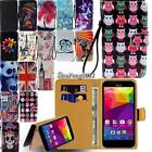 New Leather Flip Card Wallet Stand Cover Case For Various BLU Life SmartPhones