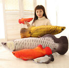 plush toy stuffed doll emulational 3D Arowana fish Scleropages formosus gift 1pc