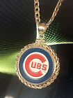 Kyпить STERLING SILVER ROPE PENDANT W/ CHICAGO CUBS a SETTING JEWELRY GIFT на еВаy.соm