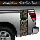 """Black Bear #3 """"Camo HuntingTruck Bed Band Stripe Decal Graphic Sticker Kit"""