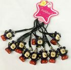 Lot cartoon mickey Cell Phone Strap JINGLE BELLS Dangle Charms Cute Gifts M253