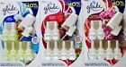 Glade Plugins Scented Oil Blue Odyssey Radiant Berries or Peony Cherry 6 Refills