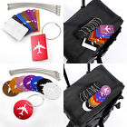 Different Designs Luggage Tags Suitcase Name Address Label ID Tag Novelty 8PCS