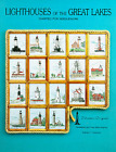 Tidewater Originals or Treetrunk Designs LIGHTHOUSES Cross Stitch Pattern CHOOSE