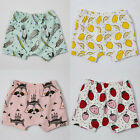 1-4 Years Baby Kids Summer Shorts Pants Cute Boys Girls Cotton Loose Trousers