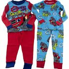Blaze and the Monster Machines Trucks L/S Pajamas Toddler Boys Sz 3T 4T 2 Sets