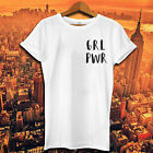 Feminist GIRL POWER Pocket T shirt The Future Is Female Smash The Patriarchy