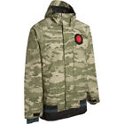 Nomis SC Simon Shell Jacket Mens Snowboard Ski 15k Waterproof Camo M L