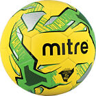 10 Mitre Impel Training Footballs Size 3,4,& 5 Yellow/Green