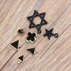 DIY 10PCS Triangle/Clovers/Pentagram Alloy Charms Pendant Jewelry Findings NEW