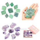 Natural Rough Irregular Green Raw Fluorite Amethyst Loose Gemstones Decor Gift