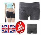 Ladies Womens Shorts 3 Pockets Stretchy Lace Front Pants Hotpants