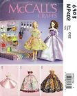 "McCall's 6903 Fashion Doll 11 1/2"" Clothes and 15 Other Items     Sewing Pattern"