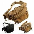 Tactical Military Shoulder Waist Fanny Pack Pouch Bum Bag Camping Hiking Outdoor