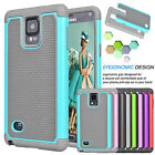 Kyпить For Samsung Galaxy Note 4 Armor Shockproof Hybrid Rugged Rubber Hard Case Cover на еВаy.соm