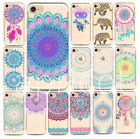 SOFT SILIKON iPHONE Motiv MANDALA Muste India SLIM HANDY CASE COVER Schutz HÜLLE