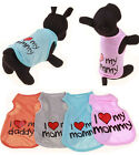 Small Dog Cat Vest Pet Puppy Waistcoat Clothes Spring Summer T-shirt Clothing