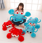 plush toy stuffed doll cartoon animal Flirting crab heart cushion pillow kid 1pc