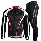 Mens Cycling Clothing Outfit Breathable Bike Padded Pants Bicycle Jerseys Sets