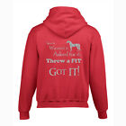 """KIDS HORSE HOODIE, CHILDS, EQUESTRIAN, """"Saw It Got It"""", CHRISTMAS/BIRTHDAY GIFT"""