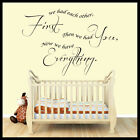 Nursery Wall Art,Quotes, Wall Decals, Wall Stickers, Graphics
