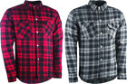 Highway 21 Mens Marksman Armored Flannel Riding Shirt