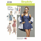 Simplicity 8139 Sewing Pattern Misses 6-22  1950's Bathing Dress and Beach Coat