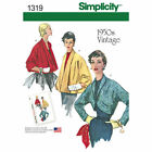 Simplicity 1319 Paper Sewing Pattern 50's Vintage Retro Style Jackets 6-22