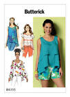 B6355 Butterick Sewing Pattern EASY Loose Fit Pullover Top Misses 4-26