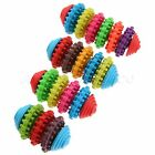 Coloured Rubber Dog Pet Toy Puppy Playing Molar Teeth Chew Healty Pet Supplies
