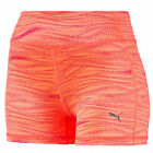 Puma Essential Damen Grafik Fitness Gym Leuchtend Shorts Eng 513962 02 U51B